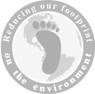 We are a green company, reducing our footprint on the environment.