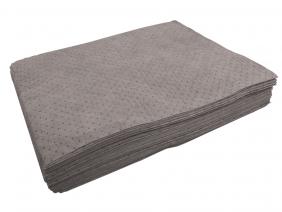 Universal absorbent pads.