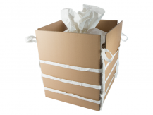 Bulk Bag with Cardboard Inserts