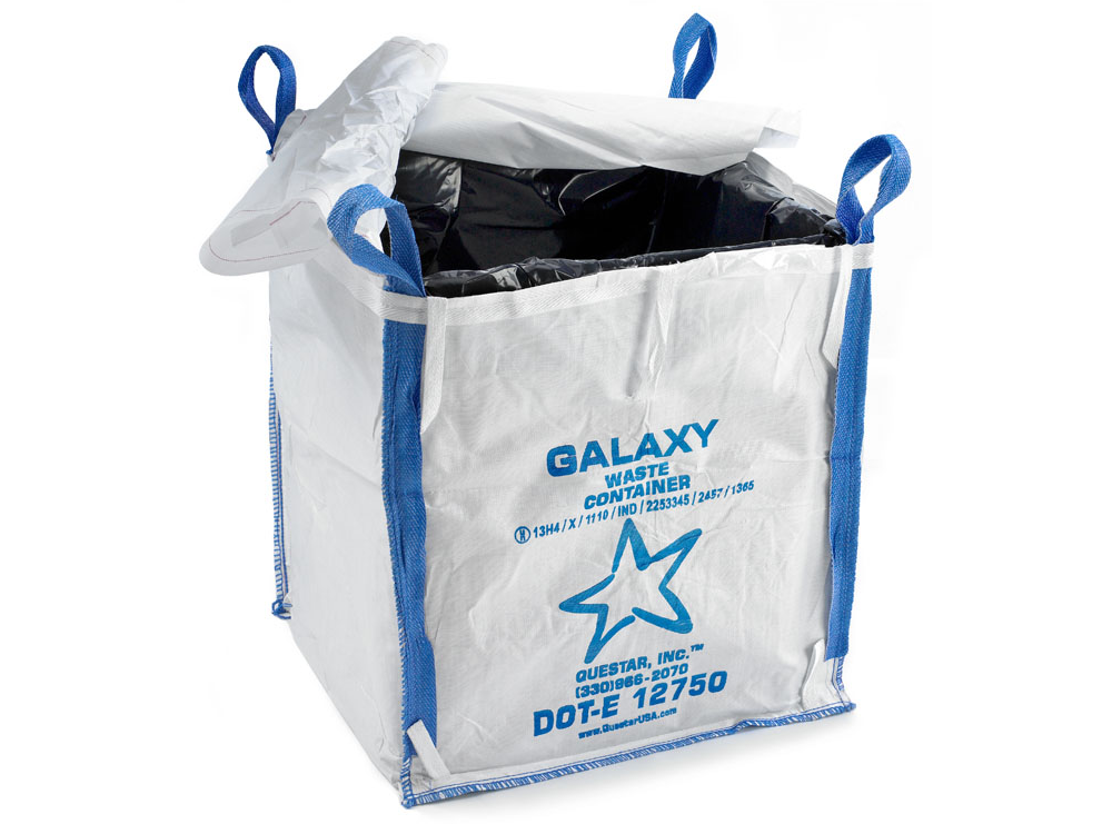 Galaxy waste container questarusa for Un container