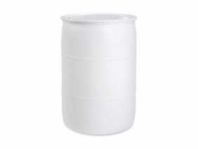 30 Gallon Tight Head Poly Drum Natural