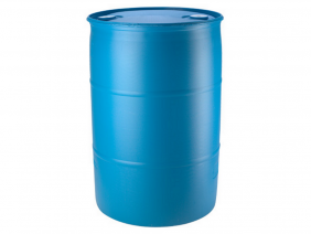 55 Gallon Tight Head Drum Blue Color