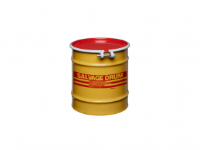 12 Gallon Steel Salvage Drum