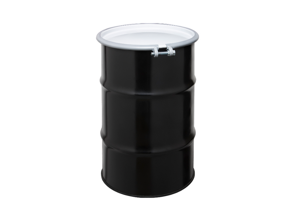 Steel drums questarusa for Metal 55 gallon drum