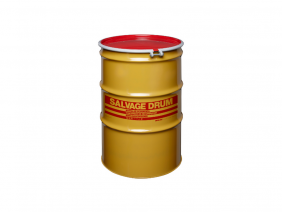 30 Gallon Steel Salvage Drum