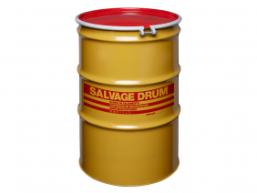 85 Gallon Steel Salvage Drum