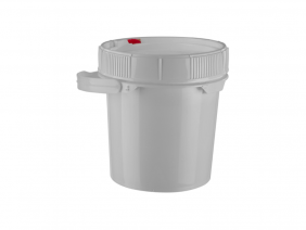 1 Gallon Poly Screw Top Pail
