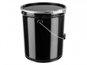 5 Gallon Lever Lock Steel Pail