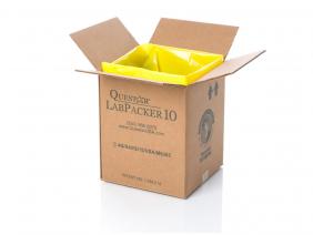 Labpacker 10 gallon size.