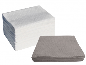 Group of oil only and universal absorbent Pads