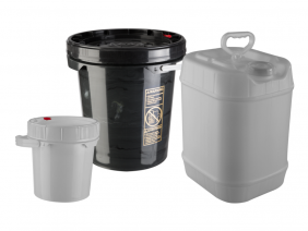 Group of Poly Pails